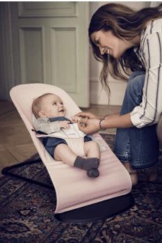 Hamacas para bebés color rosa